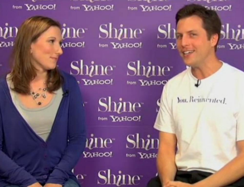"Yahoo! Shine // ""You. Reinvented."""