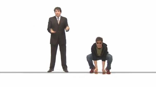 "Greg Brill and Ben Hauck in ""ROI vs. Mr. Cool"""