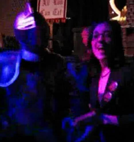 """Ben Hauck Dancing as Yahoo!""""s Spanguard"""