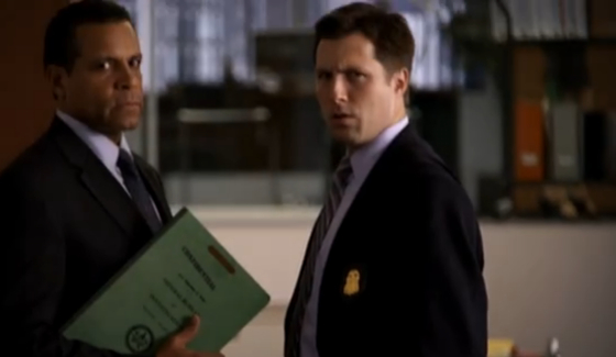 Michael Logan & Ben Hauck as FBI agents on White Collar